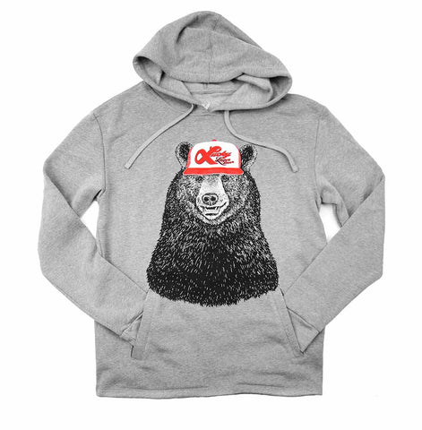 Lucky Bear Adult Unisex Hoodie