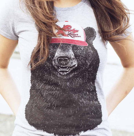 Women's Lucky Bear Scoop-neck