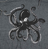 Adult Unisex Giant Pacific Octopus light-weight Hoodie