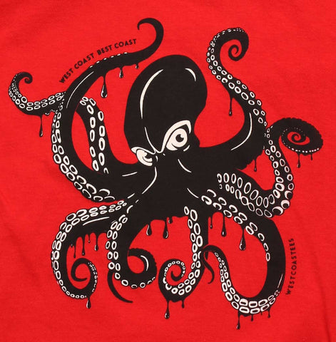 Kids Giant Pacific Octopus T-shirt