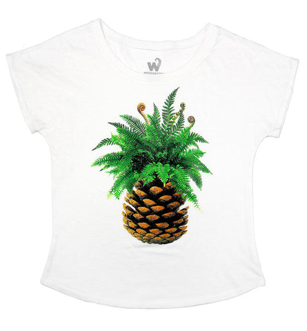 Women's West Coast Pineapple Dolman Tee