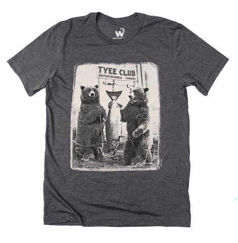 Adult Unisex Tyee Bears T-shirt