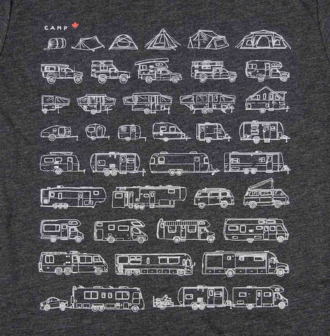 Adult Unisex RV-Evolution T-shirt