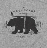Adult Unisex The West Coast is Calling T-shirt