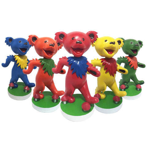 Grateful Dead Dancing Bear Bobblehead