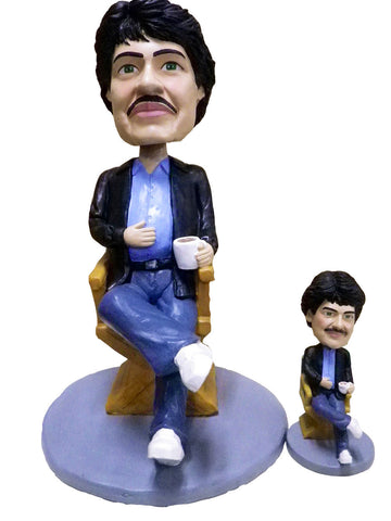 GIANT CUSTOM 24 INCH & 7 INCH BOBBLEHEAD HEAD TO TOE