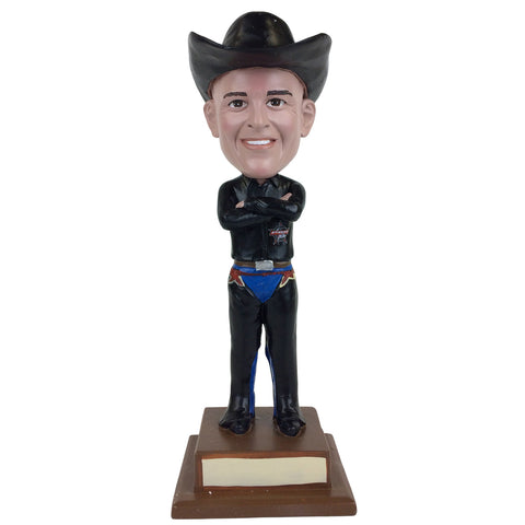 Professional Bull Riders (PBR) Custom Fan Bobblehead - arms folded