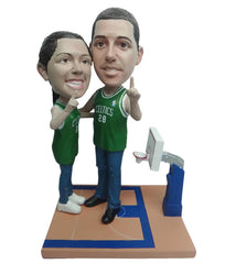 Boston Celtics Number One Couple