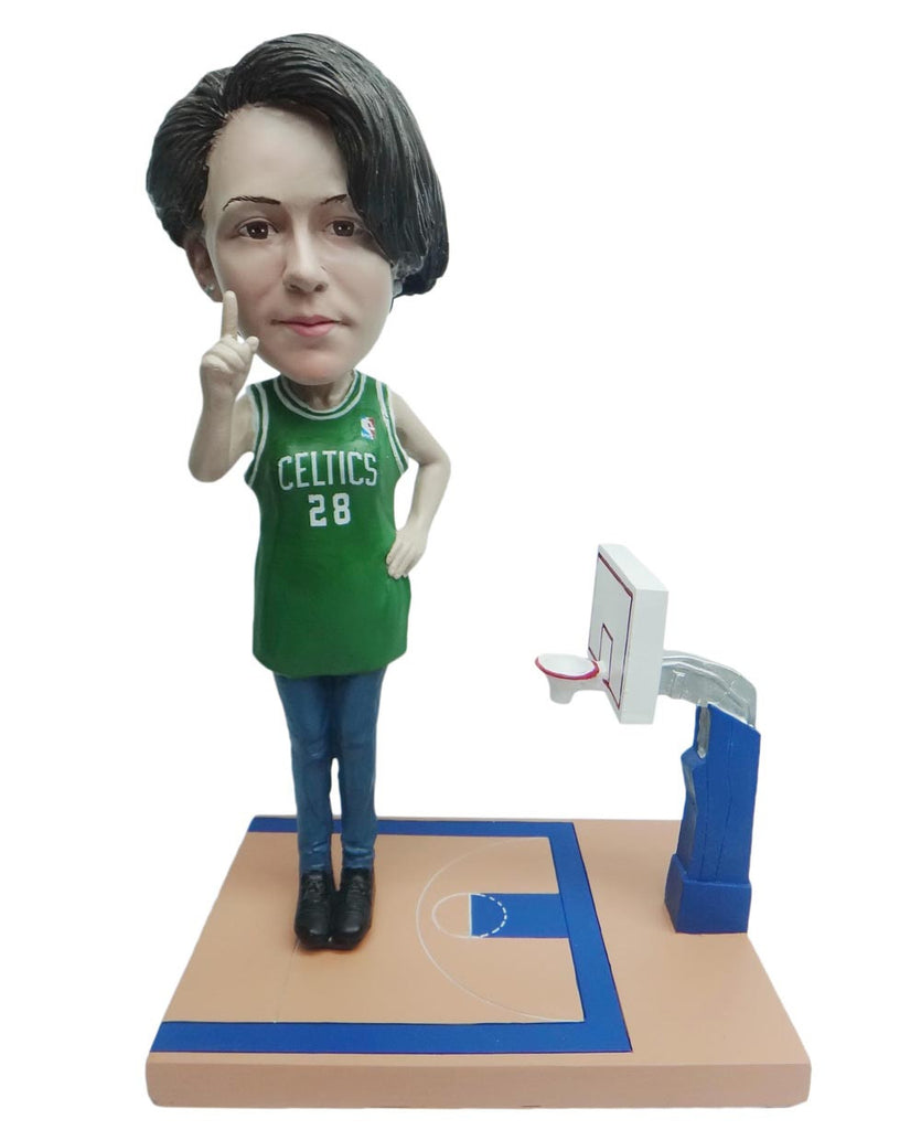 Boston Celtics Number One Female Fan