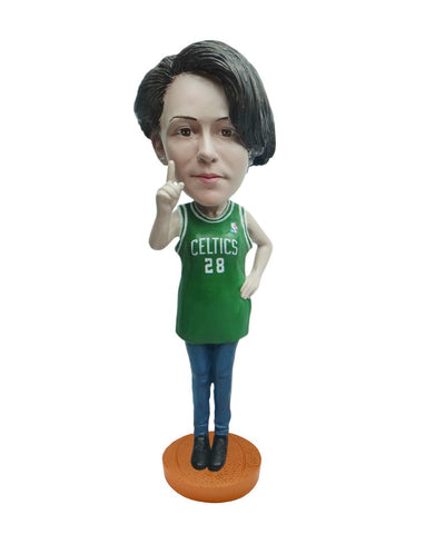 Boston Celtics Number One Female Fan Standard Base