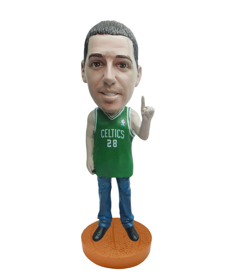 Boston Celtics Number One Male Fan Standard Base