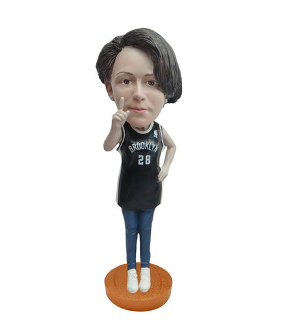 Brooklyn Nets Number One Female Fan Standard Base