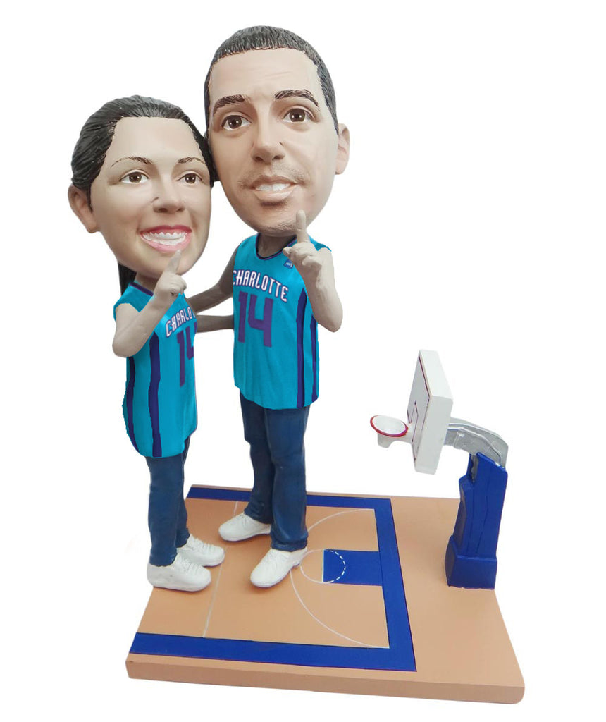 Charlotte Hornets Number One Couple