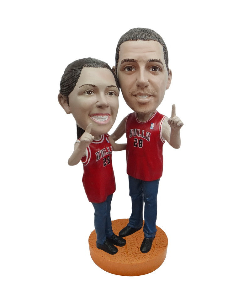 Chicago Bulls Number One Couple Standard Base