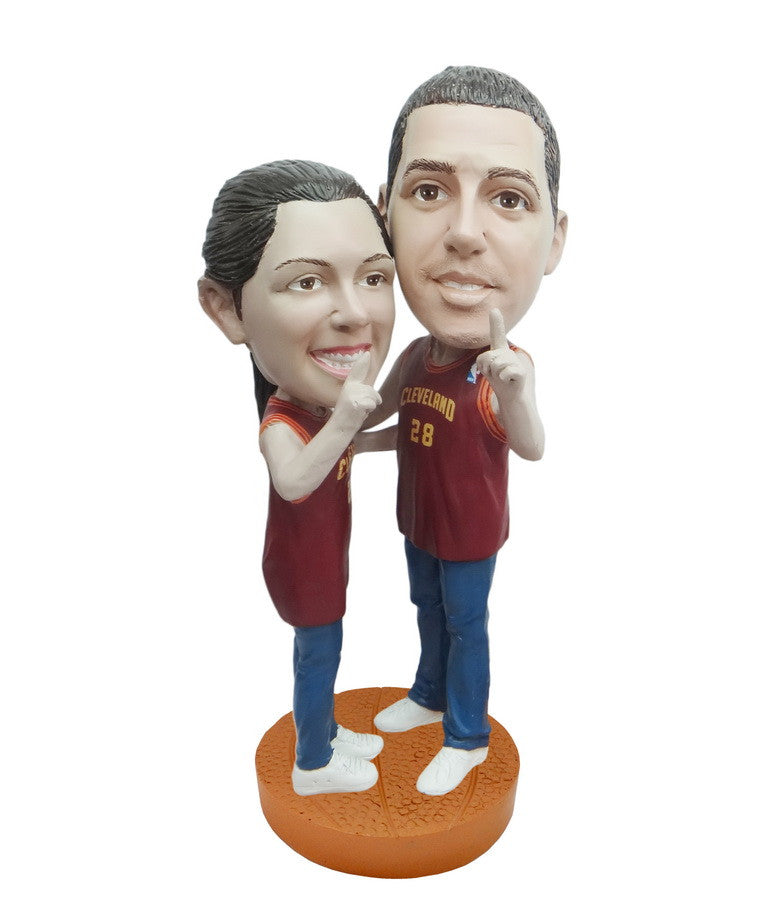 Cleveland Cavaliers Number One Couple Standard Base