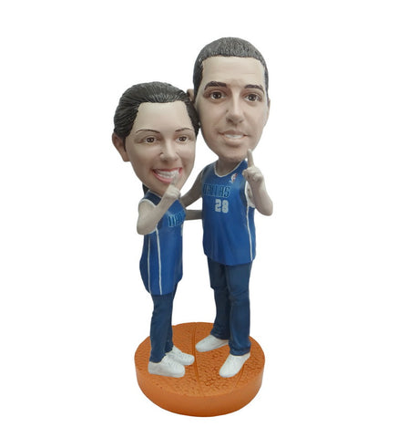 Dallas Mavericks Number One Couple Standard Base