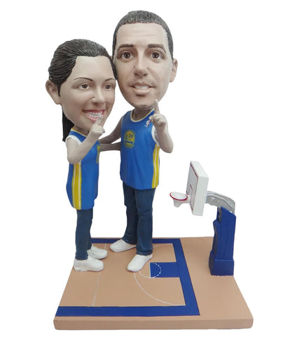 Golden State Warriors Number One Couple