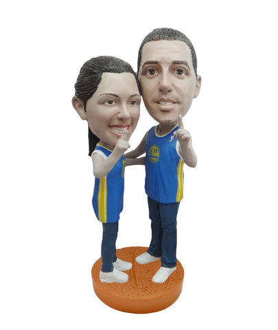 Golden State Warriors Number One Couple Standard Base