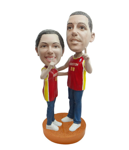 Houston Rockets Number One Couple Standard Base