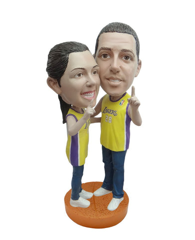 Los Angeles Lakers Number One Couple Standard Base