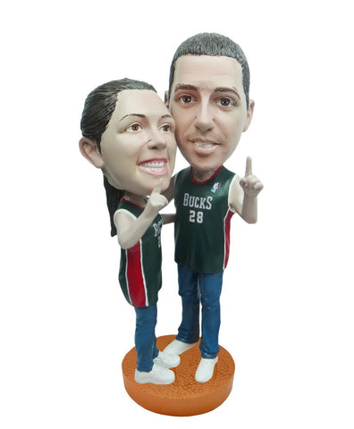 Milwaukee Bucks Number One Couple Standard Base