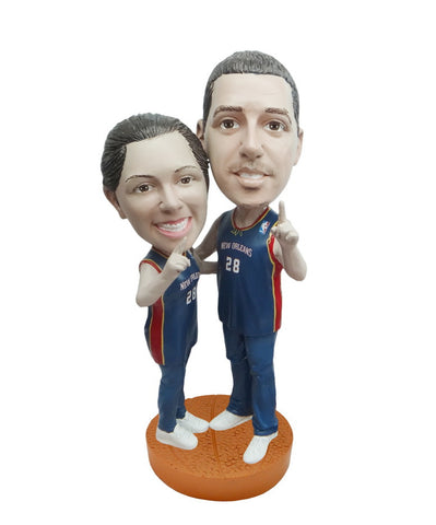 New Orleans Pelicans Number One Couple Standard Base