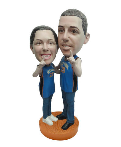 New York Knicks Number One Couple Standard Base