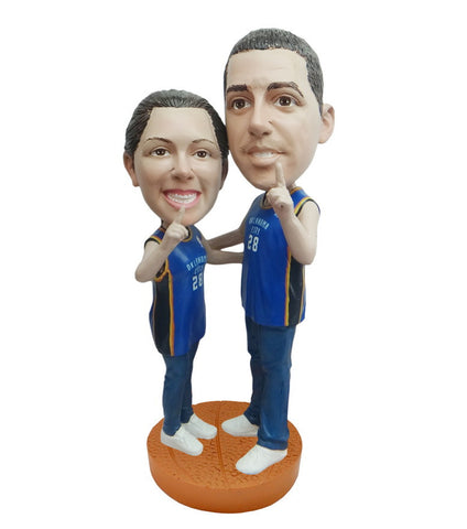 Oklahoma City Thunder Number One Couple Standard Base