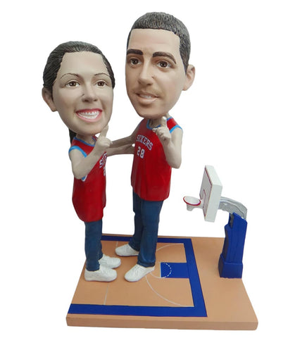 Philadelphia 76ers Number One Couple