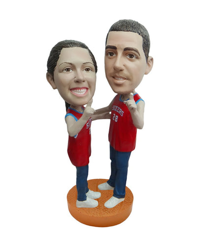 Philadelphia 76ers Number One Couple Standard Base