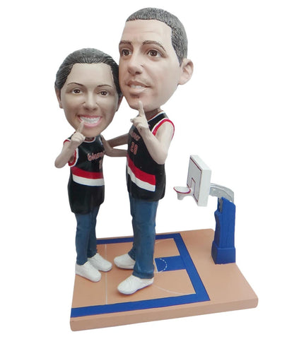 Portland Trailblazers Number One Couple