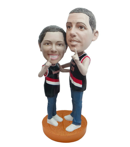 Portland Trailblazers Number One Couple Standard Base