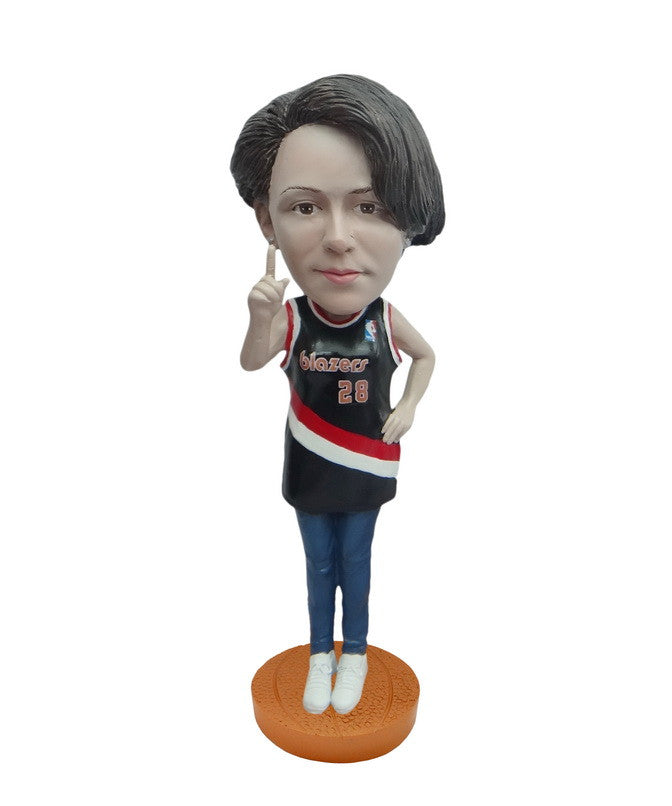 Portland Trailblazers Number One Female Fan Standard Base