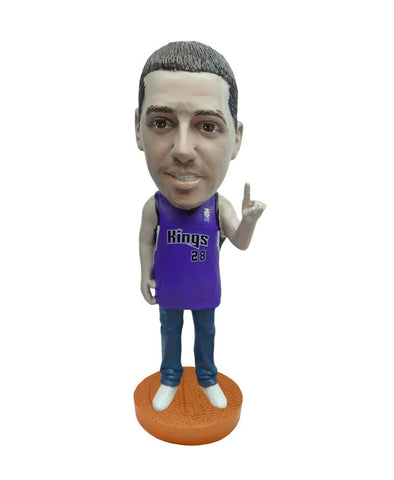 Sacramento Kings Number One Male Fan Standard Base