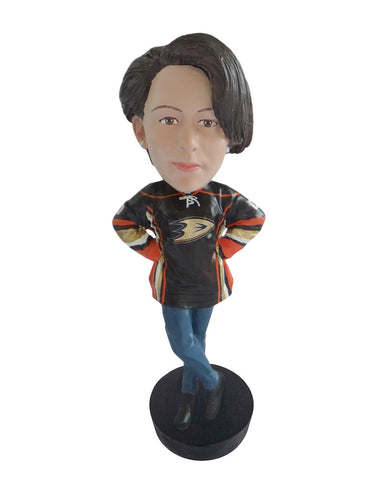Anaheim Ducks Female Fan Standard Base