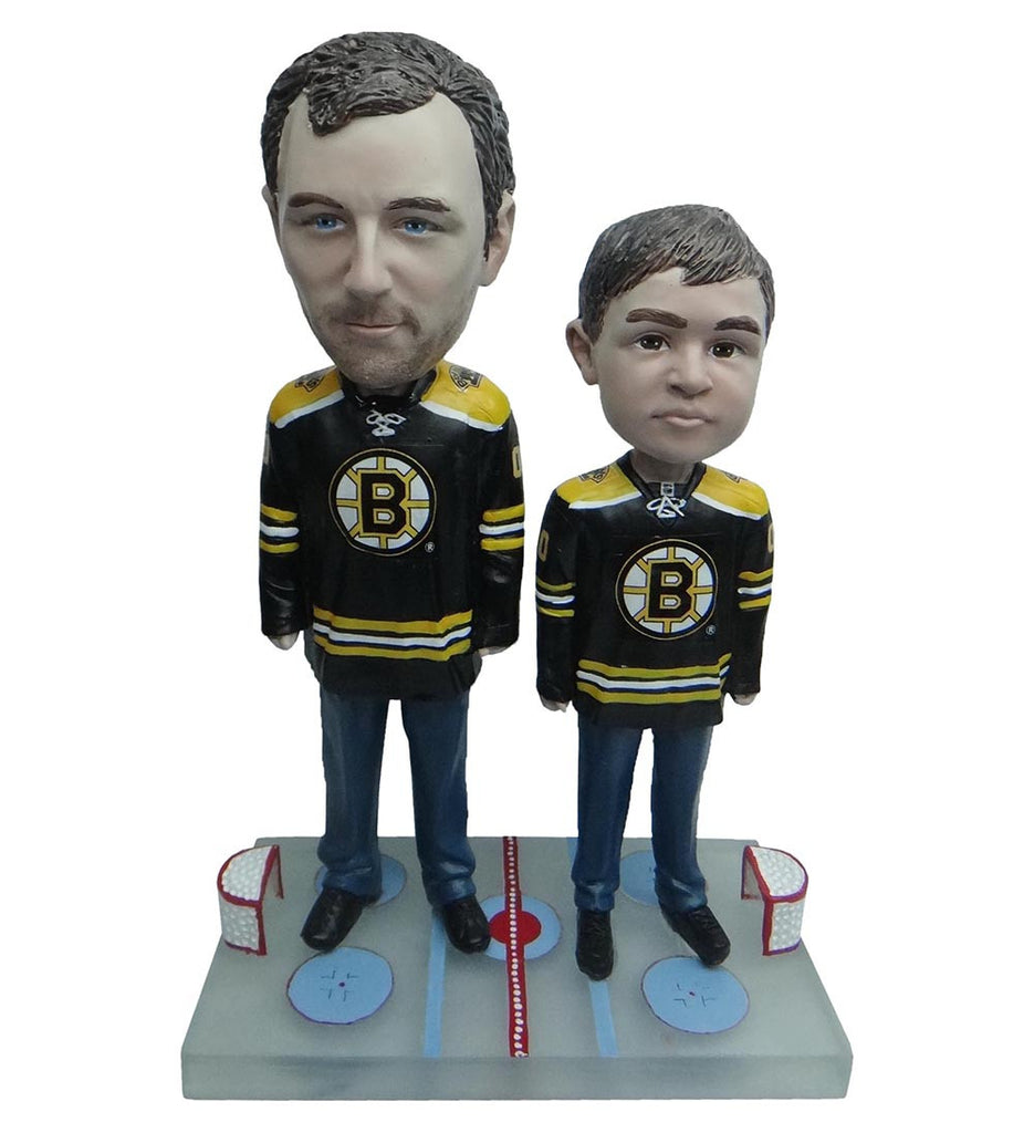 Boston Bruins Father and Son Fans