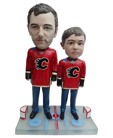 Calgary Flames Father and Son Fans