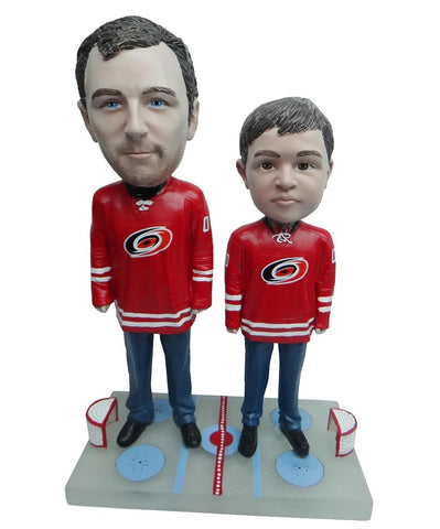 Carolina Hurricanes Father and Son Fans