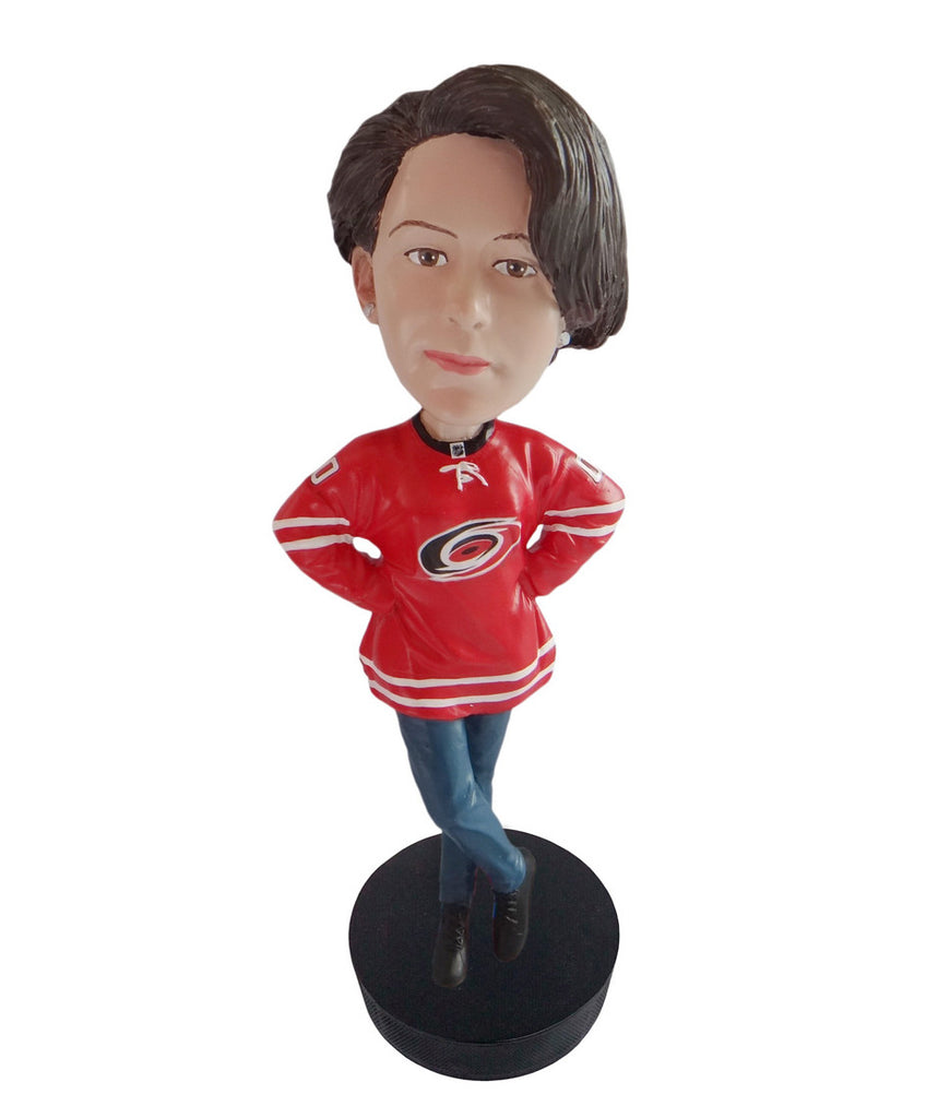 Carolina Hurricanes Female Fan Standard Base
