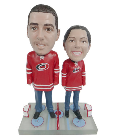 Carolina Hurricanes Male and Female Fans