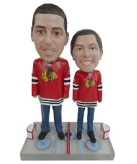 Chicago Blackhawks Male and Female Fans
