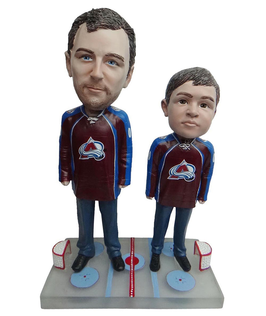 Colorado Avalanche Father and Son Fans