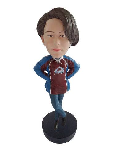 Colorado Avalanche Female Fan Standard Base