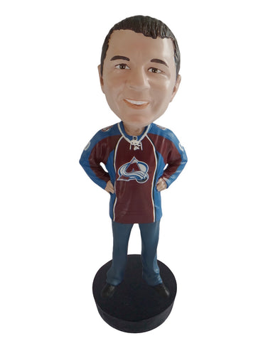 Colorado Avalanche Male Fan Standard Base