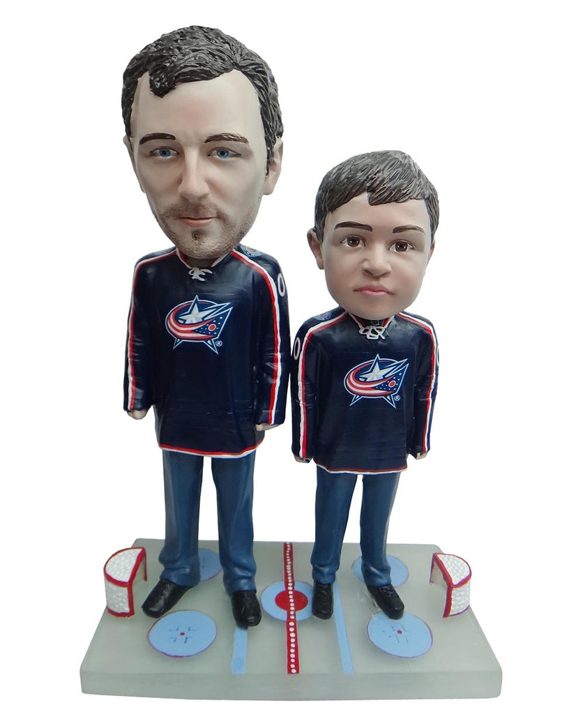 Columbus Blue Jackets Father and Son Fans