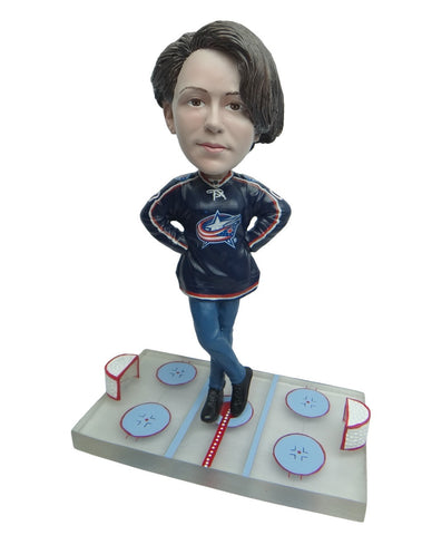 Columbus Blue Jackets Female Fan