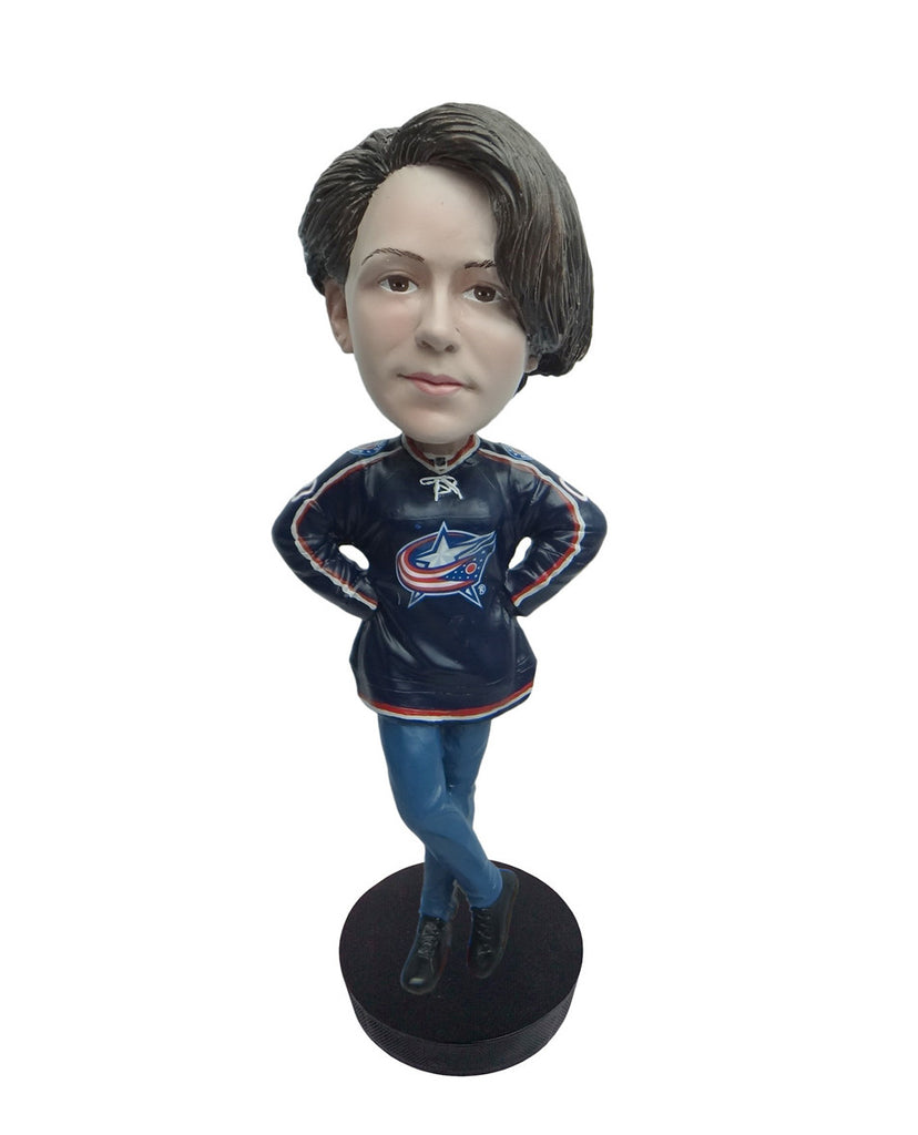 Columbus Blue Jackets Female Fan Standard Base