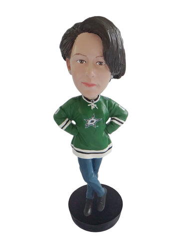 Dallas Stars Female Fan Standard Base
