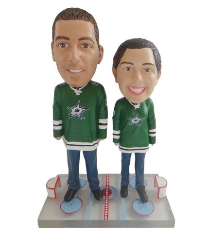 Dallas Stars Male and Female Fans