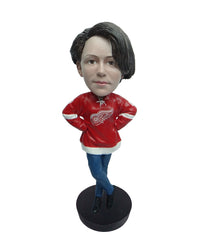 Detroit Red Wings Female Fan Standard Base